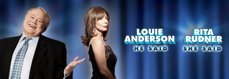 Rita Rudner & Louie Anderson